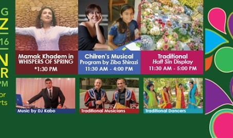 Nowruz 2016 Celebrations at UC IRVINE