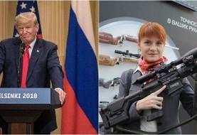 یک زن روس در آمریکا به اتهام جاسوسی برای دولت روسیه و رابط ترامپ و پوتین بازداشت شد