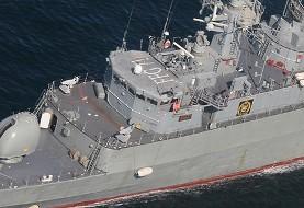 ناوشکن پیشرفته سهند به ناوگان نیروی دریایی ایران پیوست