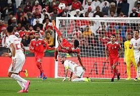 تصاویری از پیروزی ایران برابر عمان