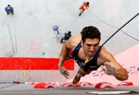 Iranian Climbs Fast! Alipour Wins Bronze in Sports Climbing World Cup