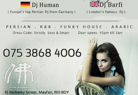 DJ Human & DJ Barfi in Persian Party