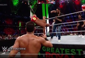Video: Saudi Arabia pays Iranian-American brothers to lose with Iranian flag in WWE charade!