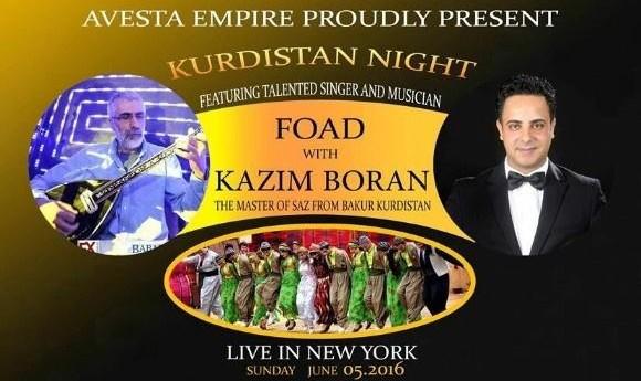 شبِ کردستان همراه فواد و کاظم بوران