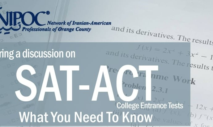 Preparing for SAT & ACT Tests, Feature Discussion for High School Students