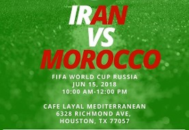 FIFA World Cup - Iran vs Morocco