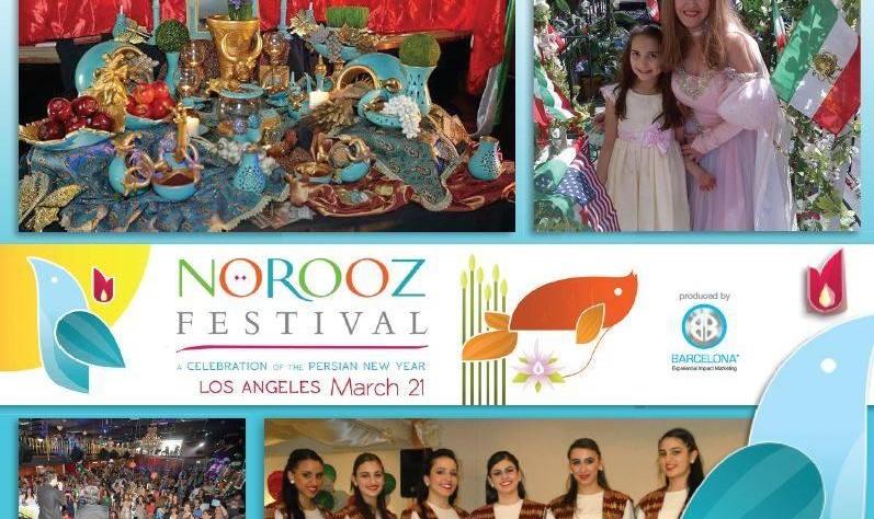 رژه و فستیوال نوروزی در لس آنجلس