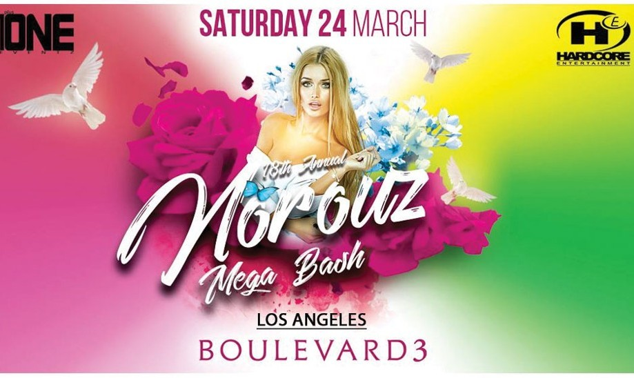 Norouz Party in Los Angeles at Boulevard3 Nightclub