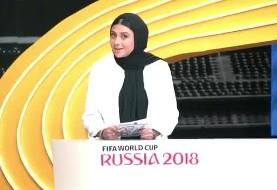 حذف یک زن از مجری گری فوتبال: صدا و سیما چگونه آزاده صمدی را کنار گذاشت؟ فیلم