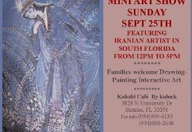 Local Iranian Artist Exhibition