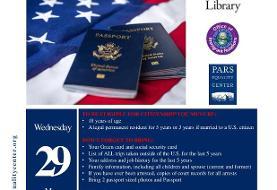 کمک رایگان جهت تکمیل فرم تابعیت آمریکا