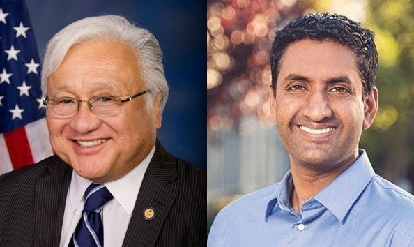 Endorsement meeting with Mike Honda and Ro Khanna