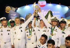 نیروهای مسلح ایران قهرمان غواصی عمق مسابقات نظامی روسیه شدند