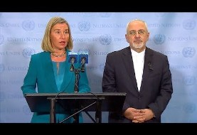 Meetings Abound in New York: From Zarif, Mogherini to pro-Saudi, pro-Israeli and MKO Meetings
