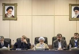 غیبت ۱۴ عضو مجمع تشخیص مصلحت در جلسه امروز برخورد با مفاسد اقتصادی، هاشمی شاهرودی هم با توصیه پزشکان باید ساکت باشد!