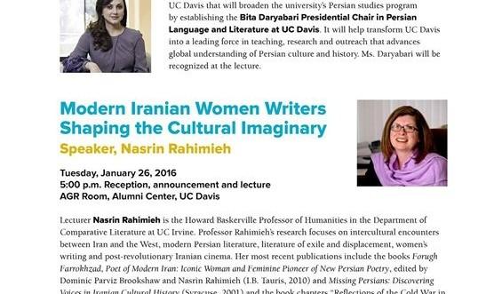 """Modern Iranian Women Writers: Shaping the Cultural Imaginary"
