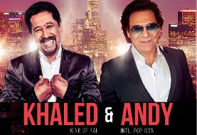 Cheb Khaled & Andy Celebrating Earth Day ۲۰۱۹
