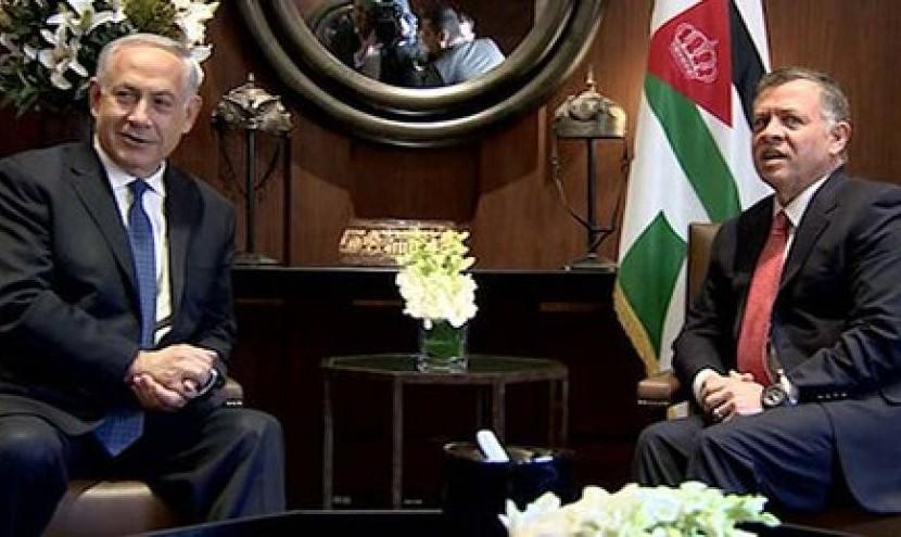 دیدار نتانیاهو و پادشاه اردن در امان