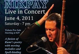 Hamed Nikpay Concert in San Diego