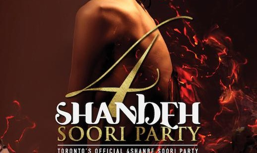 Toronto's Official 4Shanbe Soori Party