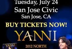 Yanni Concert in San Jose