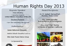 مراسم روز جهانی حقوق بشر