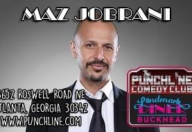 Maz Jobrani at the Punchline Comedy Club in Atlanta