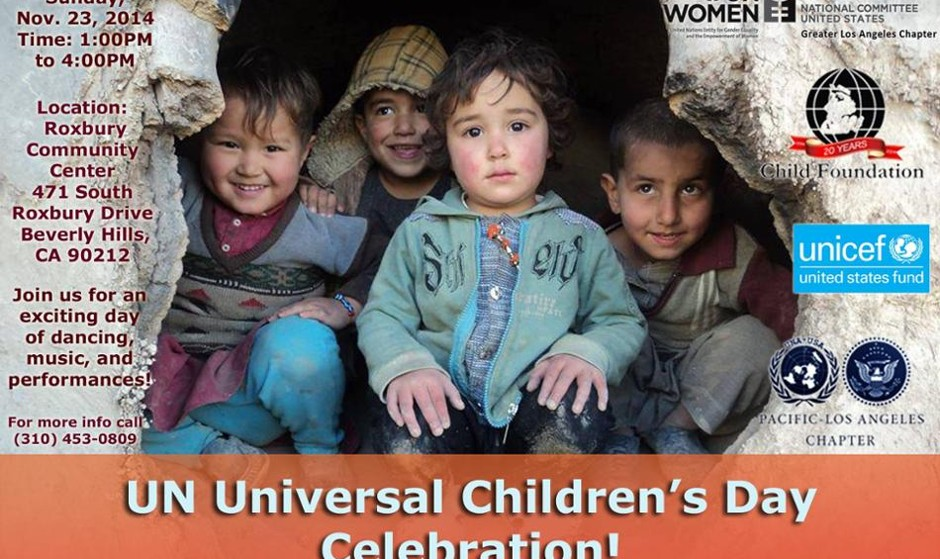 UN Universal Children's Day Celebration