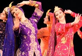 اجرای رقص توسط گروه رقص خورشید خانم
