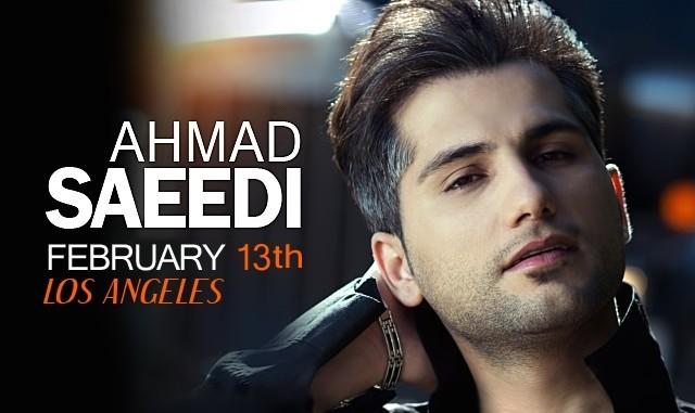 Ahmad Saeedi Live in Concert