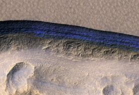 کشف هیجان انگیز ناسا: کافی است سطح مریخ را حفر کنید تا به صفحات عظیمی از یخ های آب برسید
