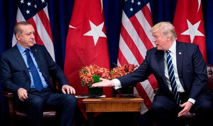 اردوغان جلوی ترامپ میایستد: اردوغان در سودای ایجاد جبهه مقاومت در برابر آمریکا