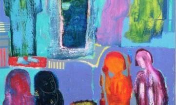 نمایشگاه آثار نقاشی شهلا آرمین
