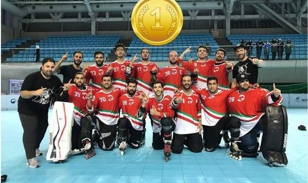 تیم ملی اینلاین هاکی مردان به مدال طلای تاریخی آسیا رسید، بانوان سوم شدند