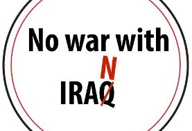 راهپیمایی: جنگ با ایران هرگز