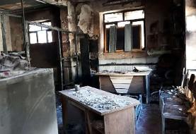 فاجعه در زاهدان: فوت ۳ دانشآموز دختر در آتشسوزی مدرسه غیر انتفاعی