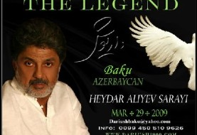 Dariush in Nowruz ۱۳۸۸ in Azerbaijan (Canceled)