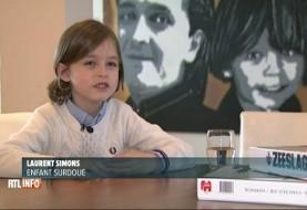 پسر هشتساله بلژیکی وارد دانشگاه میشود