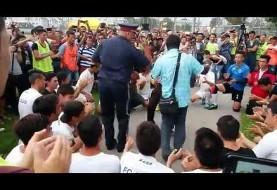 ویدئوی هفته: رقص پلیس اتریش با آهنگ معین