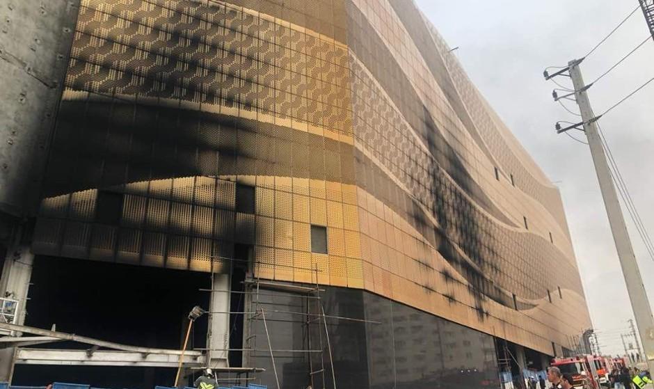 یک برج در حال ساخت دیگر تهران آتش گرفت: آتشسوزی گسترده در برج  تجاری اداری ۲۵ طبقه و گرفتار شدن بیش از ۴۰ کارگر
