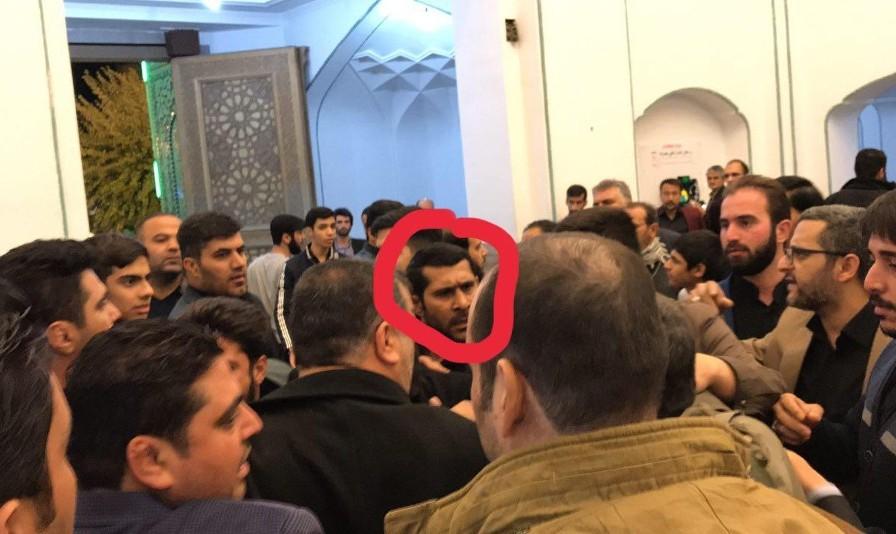 فیلم درگیری میان هواداران احمدینژاد و لباس ...