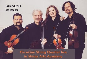 Circadian String Quartet: Poetry of Rumi