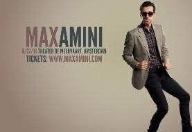 Max Amini Live in Amsterdam