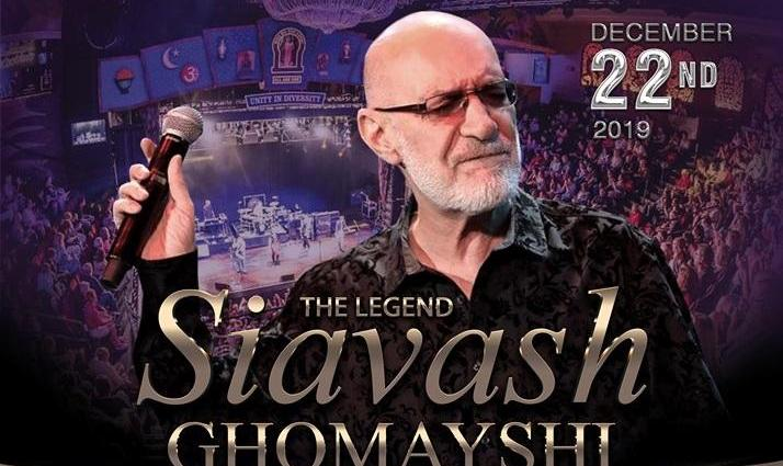 Siavash Ghomayshi Concert