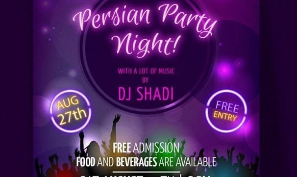 Persian party night