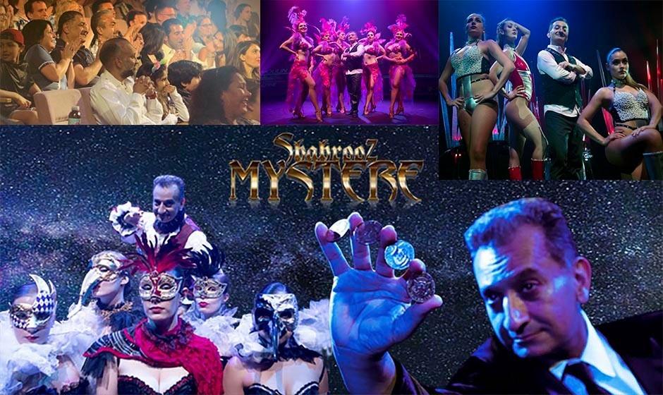 بلیت ویژه و هدیه کریسمس: برای اولین بار نمایش بی نظیر شعبده بازی، کمدی، رقص زیبا به سبک کاباره لیدو با اجرای هنرمند ایرانی-الاصل