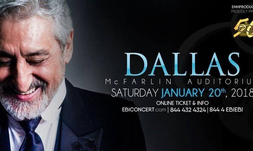 """Ebi, Live in Dallas, """"50"""" World Tour"""