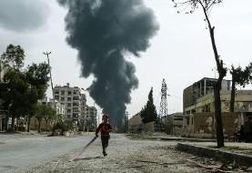 ادامه شستشوی خون با خون، چشم برابر چشم! انتقام شورشیان غوطه شرقی: شلیک راکت به دمشق دهها کشته بر جا گذاشت