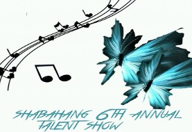 Shabahang ۶th Annual Talent Show: Ages ۵-۱۸ year