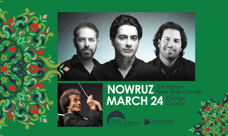 Homayoun Shajarian Nowruz Concert with the Pacific Symphony